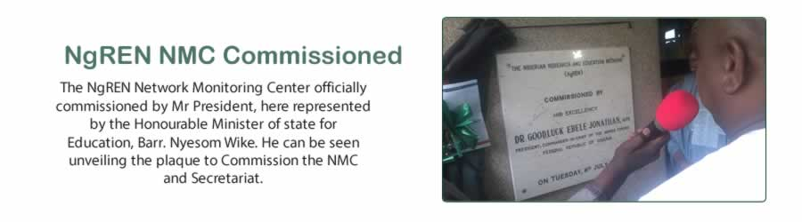 NgREN NMC Commissioned